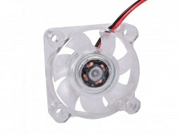 Axial-Lüfter 4010 24V 0.05A mit LED Beleuchtung