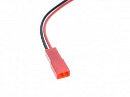 JST female - Buchse mit Kabel 2-polig