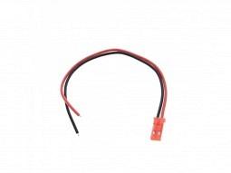 JST male - Stecker mit Kabel 2-polig