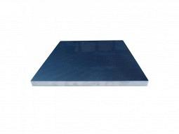 Feingefräste Aluminiumgussplatte 120x120mm Dicke 6mm