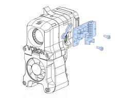 Tool-Head PCB für Voron Afterburner Rev. 3.2