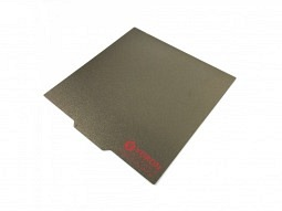 LDO Federstahlplatte mit PEI-Sheet 355x355mm glatt / strukturiert