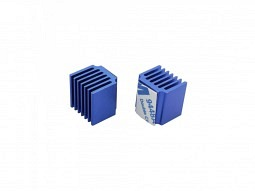 Kühlkörper 15x15x13mm, blau