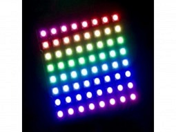8x8 64-LED RGB Matrix Panel für Arduino