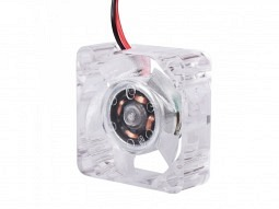 Axial-Lüfter 2510 24V mit RGB-LED Beleuchtung